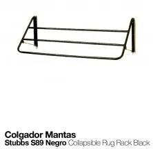 COLLAPSIBLE RUG RACK S89 BLACK
