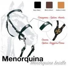CABEZADA MONTAR MENORQUINA CRUCES