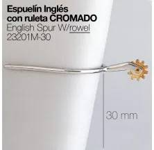 ENGLISH SPUR W/Rowel 23201M-30