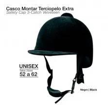 CASCO MONTAR TERCIOPELO EXTRA 3/P9203 52