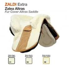 Z-E FUR COVER ALTRAS SADDLE BLACK LEATHER