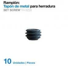 PITON TAMPÃO METAL P/FERR(10uds)TH-3258