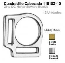 CUADRADILLO CABEZADA 11810Z-10N CROMADO 12uds
