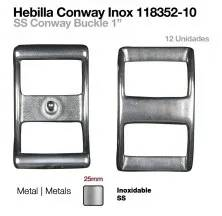 "SS CONWAY BUCKLE 1"" (12 UNITS)"