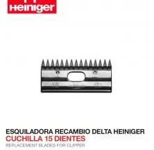 ESQUILADORA RECAMBIO DELTA HEINIGER CUCHILLA 15 DIENTES