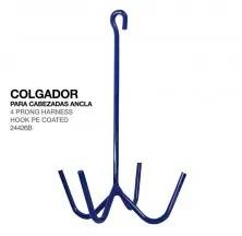 4 PRONG HARNESS HOOK PE COATED 24426B