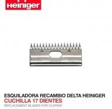 ESQUILADORA RECAMBIO DELTA HEINIGER CUCHILLA 17 DIENTES