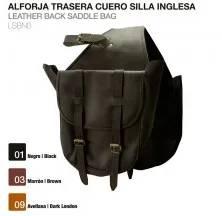 ALFORJA TRASERA CUERO SILLA INGLESA