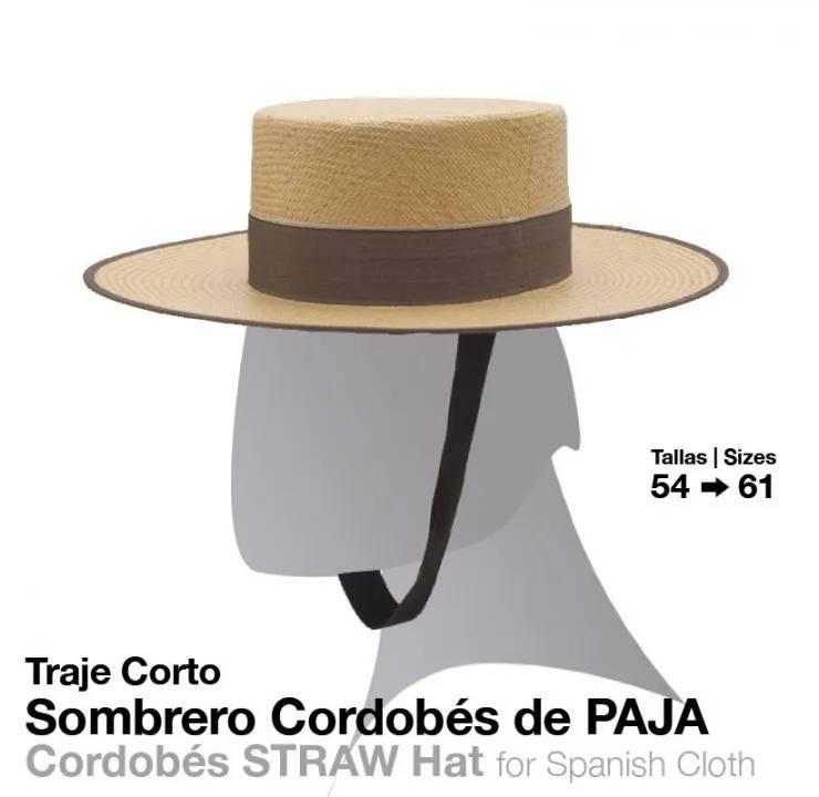 TRAJE CORTO SOMBRERO CORDOBÉS PAJA - Zaldi a2d1e6d6b3f