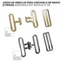HEBILLA PARA CINCHUELO DE MANTA JUEGO