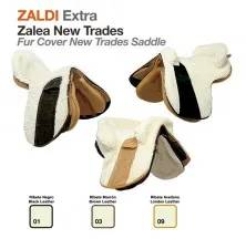 Z-E FUR COVER NEW-TRADES SADDLE BLACK LEATHER