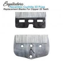 ESQUILADORA RECAMBIO CUCHILLA 33 PÚAS