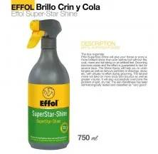 EFFOL BRILHO CRINA E CAUDA SUPER STAR 750ML