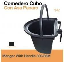 14lt. MANGER WITH HANDLE 300/86M BLACK