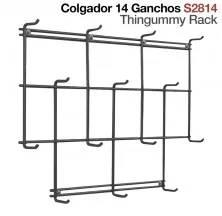 COLGADOR 14 GANCHOS S2814