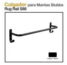 COLGADOR PARA MANTAS STUBBS S88 NEGRO