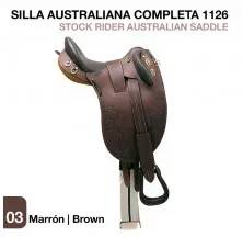 STOCK RIDER AUSTRALIAN SADDLE BROWN w/o pommel