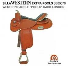 "WESTERN SADDLE ""POOLS"" DARK LONDON"