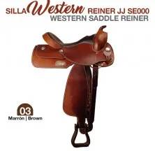 WESTERN SADDLE REINER BROWN