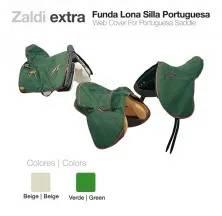 ZALDI WEB COVER FOR PORTUGUESA SADDLE BEIGE
