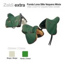 ZALDI WEB COVER FOR VAQ-MIXTA SADDLE BEIGE