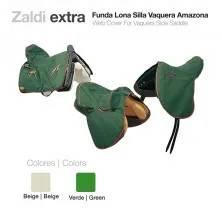 ZALDI WEB COVER FOR VAQUERA-SIDE SADDLE GREEN