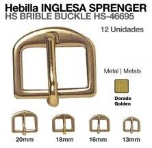 HS BRIBLE BUCKLE HS-46695-013-33 (12UNITS)