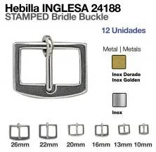 SS STAMPED BRIDLE BUCKLE 24188-03 10MM (12PCS)