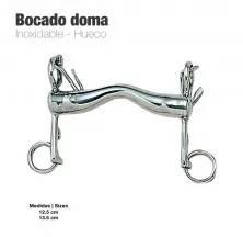 BOCADO DOMA INOX HUECO 219521