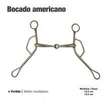 BOCADO AMERICANO GAG BIT INOX 212673