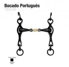 BOCADO PORTUGUÉS EMBOCADURA 3-PIEZAS 12.5cm