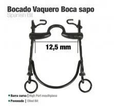 BOCADO VAQUERO B/CURVA BOCA SAPO 12.5cm