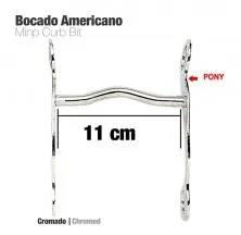 BOCADO AMERICANO CROMADO 25208