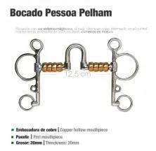 BOCADO PESSOA PELHAM BOLAS PAQ50060213