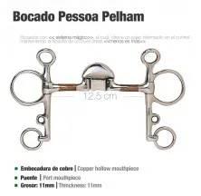 BOCADO PESSOA PELHAM COBRE PAM50180211