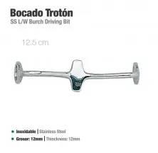 BOCADO TROTÓN INOX 21404 12.5cm