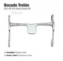 BOCADO TROTÓN INOX 21409 12.5cm