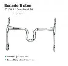 BOCADO TROTÓN INOX 21408 12.5cm