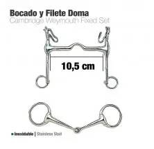 BOCADO Y FILETE INOX DOMA 213141