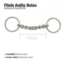FILETE ANILLA INOX BOLAS 21549-50 12.5cm