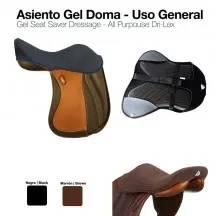 ASIENTO GEL SEAT SAVER DOMA/U-G. NEGRO L