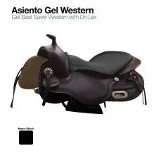 ASIENTO GEL SEAT SAVER WESTERN NEGRO