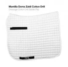 MANTILLA DOMA ZALDI COTTON DRILL BLANCO