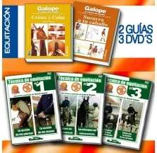 DVD + LIBRO COLECCIÓN PACK: EQUITACIÓN