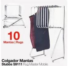 COLGADOR PARA MANTAS STUBBS S9111 (10 MANTAS)