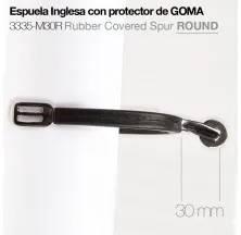 ESPUELA INGLESA PROTECTOR GOMA 3335-M30R ROUND