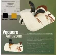 SILLA ZALDI C. VAQUERA AMAZONA (COMPLETA)