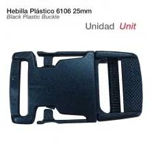 "1"" BLACK PLASTIC BUCKLE"