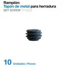 RAMPLÓN TAPÓN METAL PARA HERRADURA TH-3258 10uds