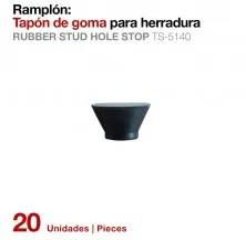 RUBBER STUD HOLE STOP TS-5140 (20UNS)
